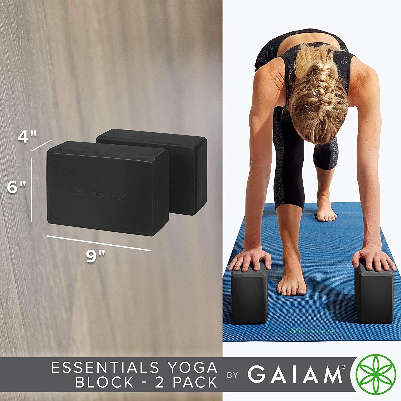 Babyonline Yoga Block Pilates Meditation,Set of 2 Supportive Latex-Free EVA Foam Soft Non-Slip Surface for Yoga